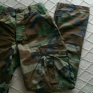 Authentic Used, worn, and work Cargos